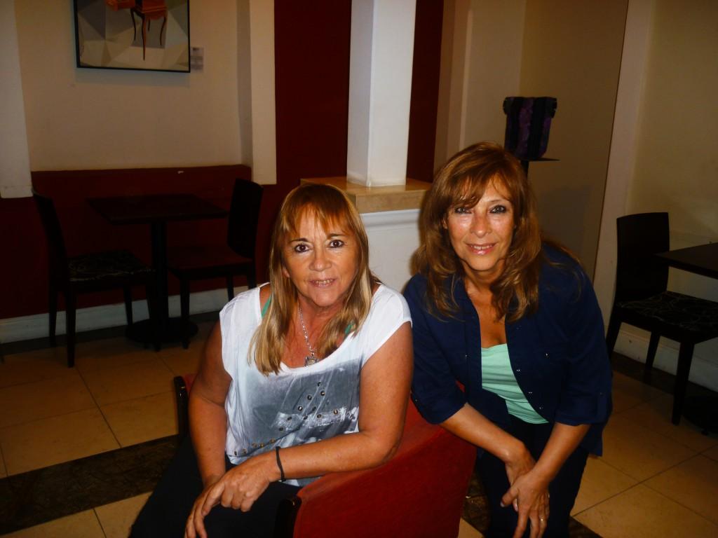 Picture Alicia Reynoso and Stella Maris Morales