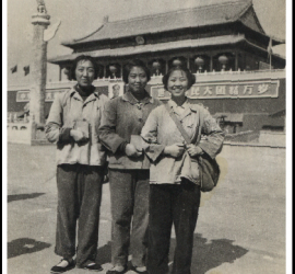 1967.10.9from left to right-Guo Zhaoying,Wang Xiaoguang and sun yu hua