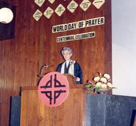 World day of Prayer in church
